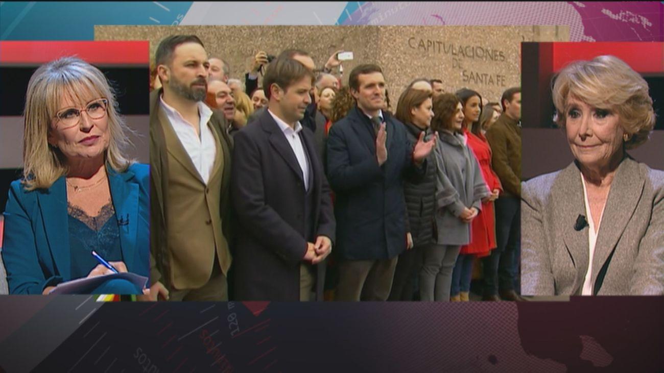 """Aguirre: """"Aspiro a una alternativa constitucionalista con Vox, Ciudadanos, PP y los que Felipe González ha llamado 'socialdemócratas desheredados'"""""""