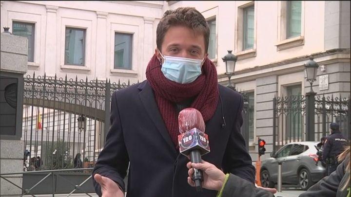 """Errejón: """"El Zendal es un hospital fantasma, el plató de televisión más caro del mundo"""""""