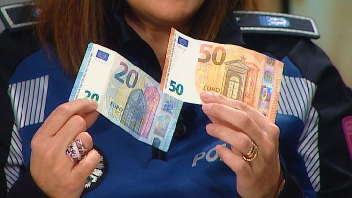 Cómo detectar un billete falso