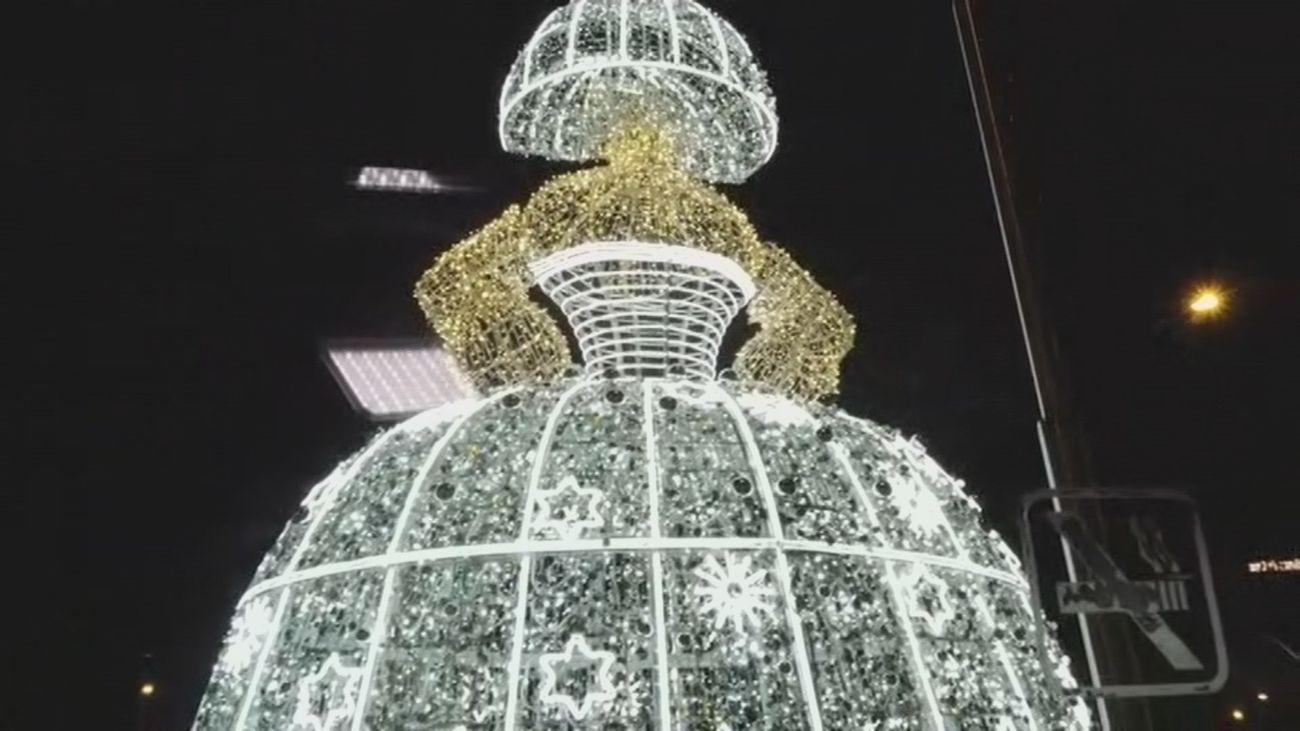 Así es el Bus de la Navidad madrileña