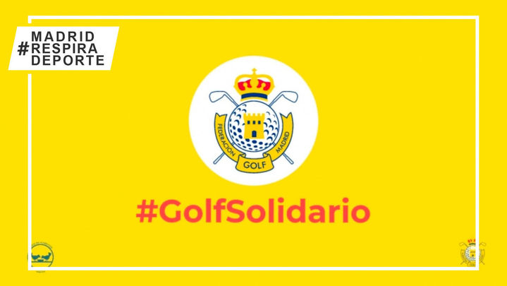 La Federación de Golf de Madrid lanza una campaña de apoyo al Banco de Alimentos