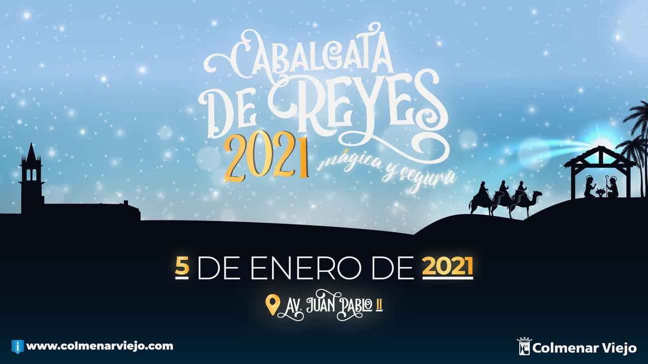 Cartel anunciador de la Cabalgata de Reyes de Colmenar