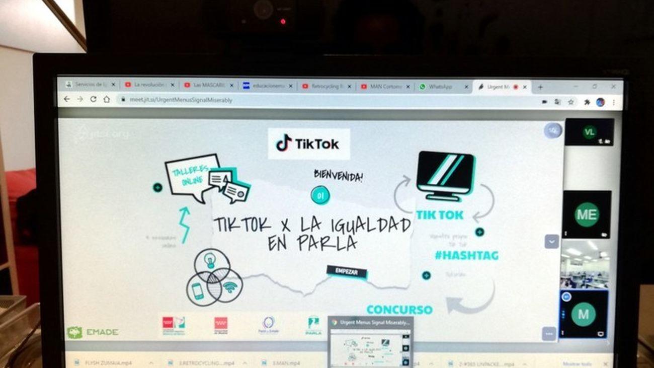 Parla usa Tik Tok para fomentar la igualdad entre estudiantes de Secundaria