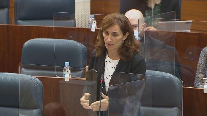 Cruce de reproches entre Más Madrid y el consejero de Hacienda en la Asamblea