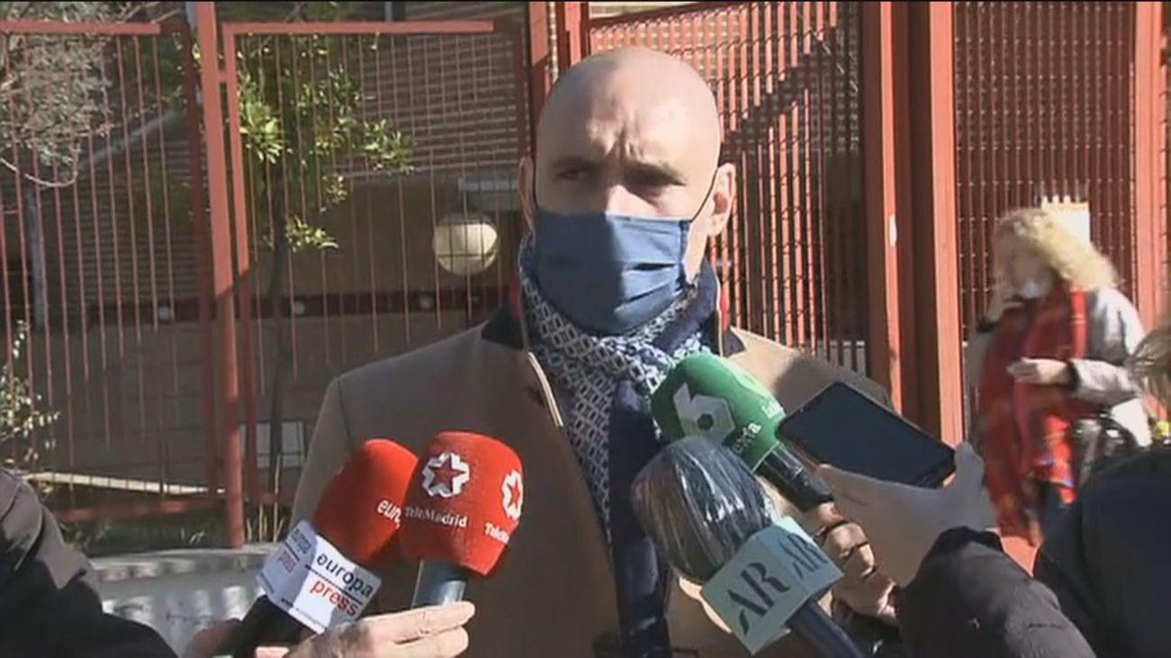 La novia del detenido por el crimen de Velilla le acusa y narra cómo le golpeó