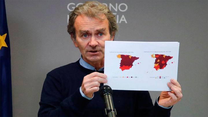 Sanidad registra 10.127 nuevos casos y 254 muertes en España