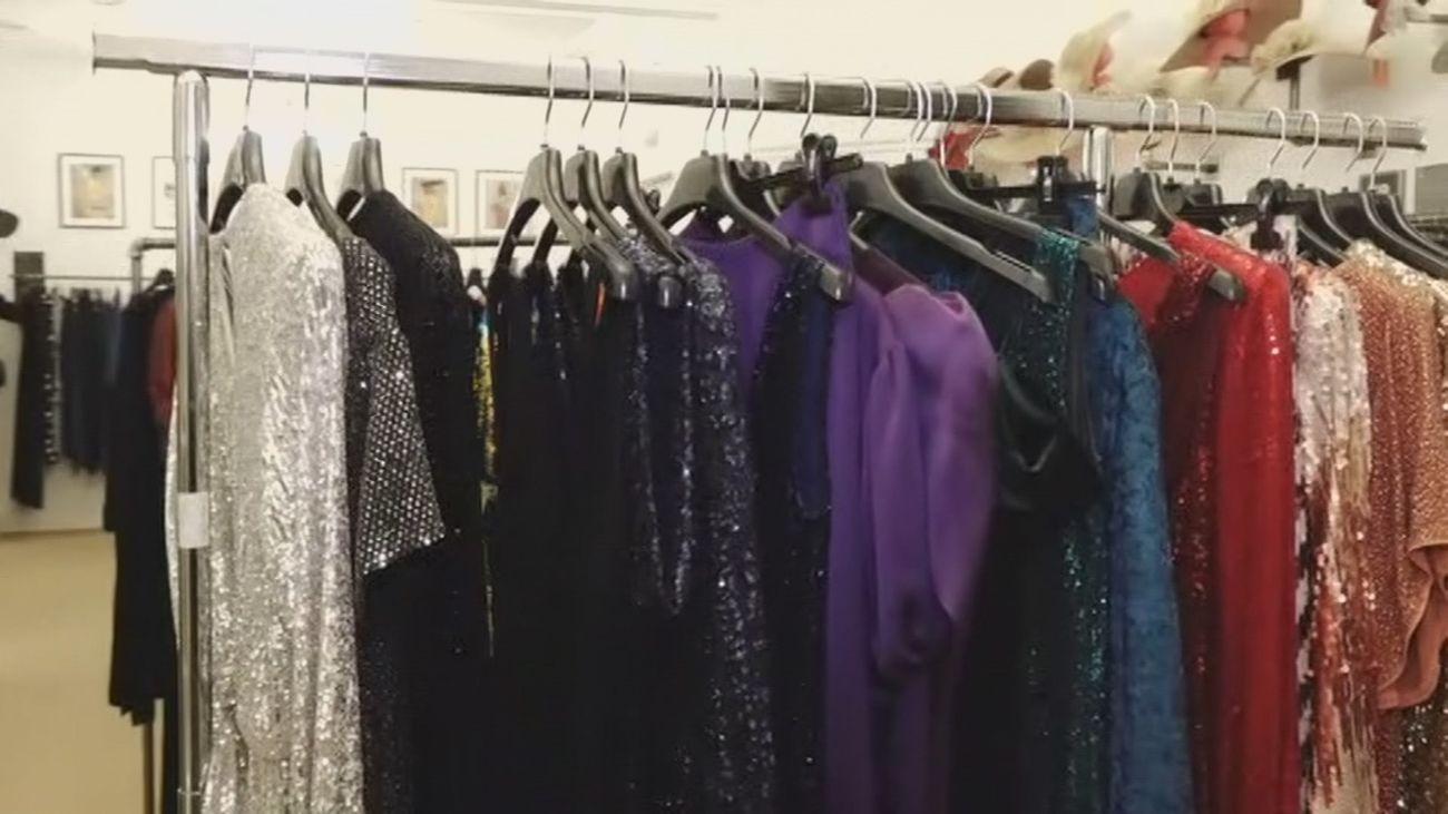 Se desploma el alquiler de los vestidos de fiesta