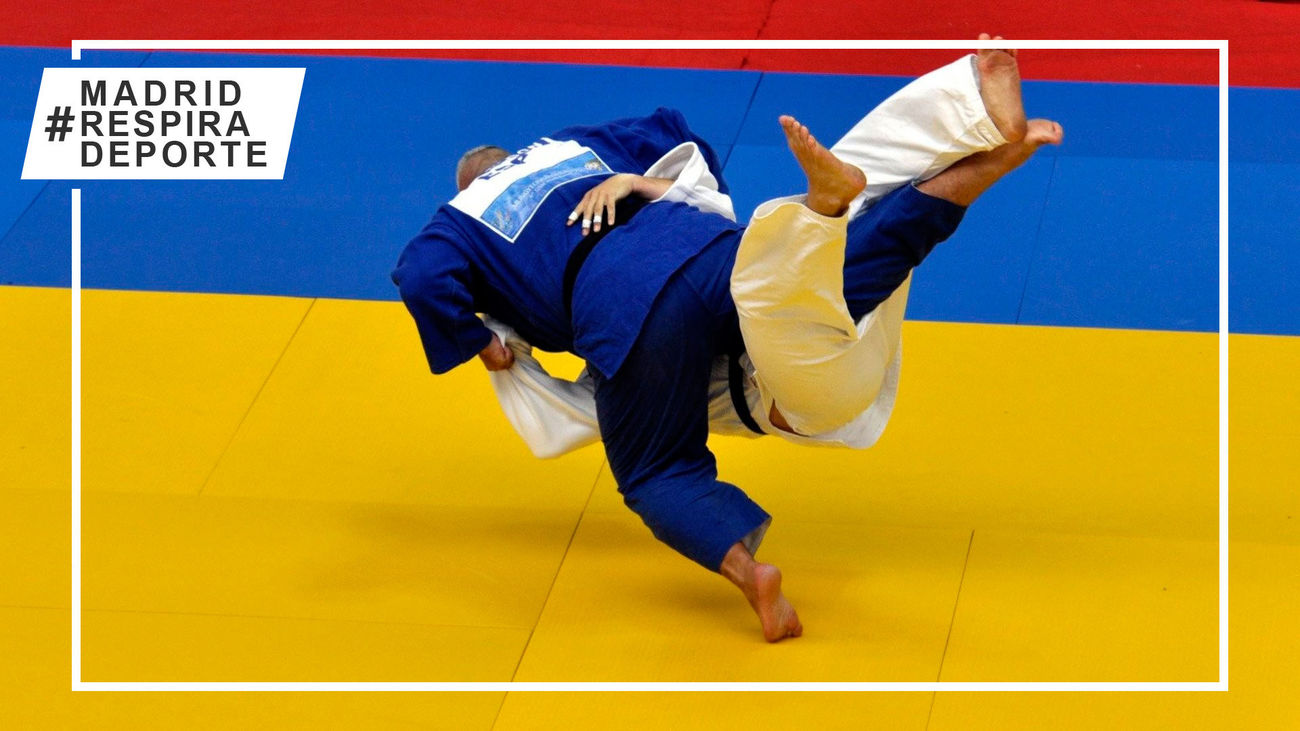 El Campeonato de España de Judo llega a la Comunidad de Madrid