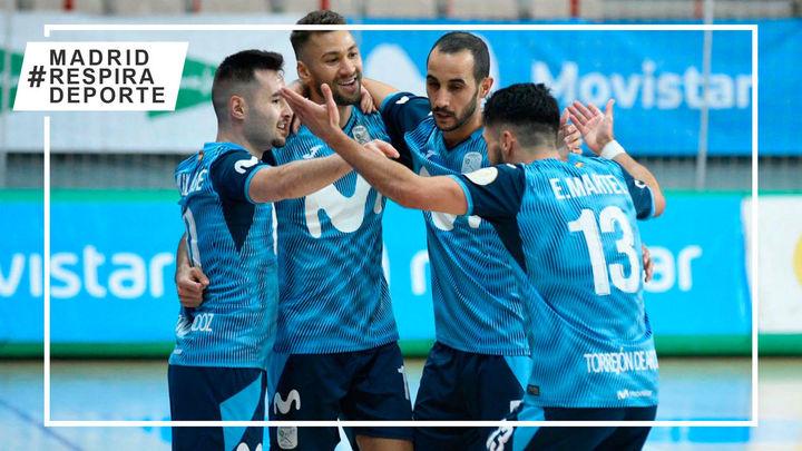 4-0. Contundente victoria del Movistar Inter ante Osasuna Magna