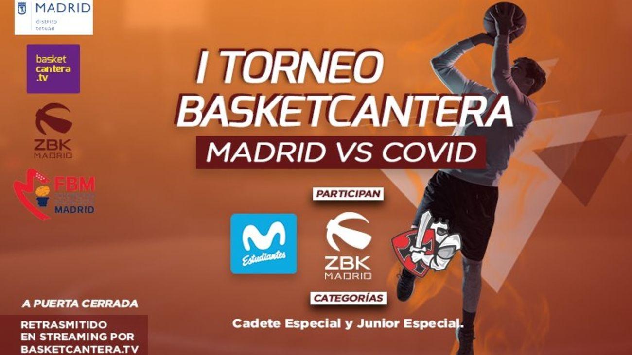 Torneo Basket Cantera, Madrid vs Covid