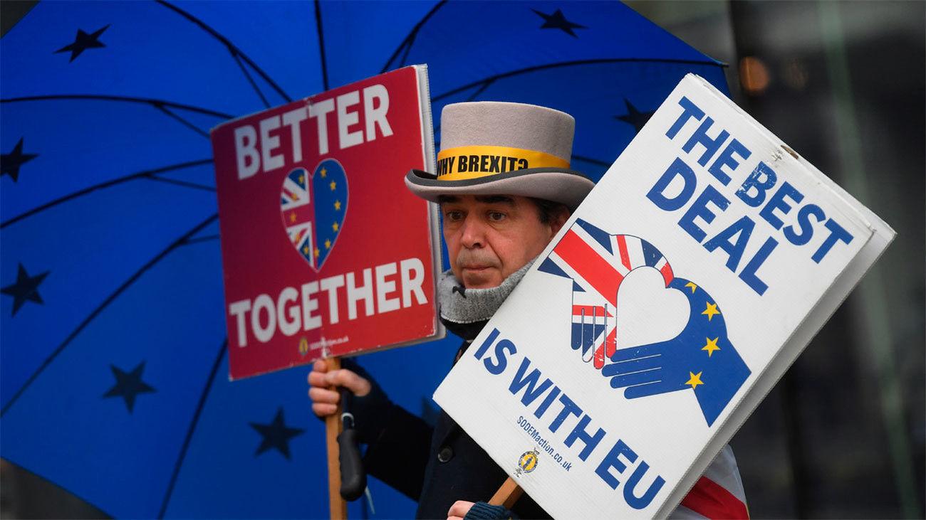 Reino Unido y la UE interrumpen las negociaciones por-Brexit ante la falta de avances