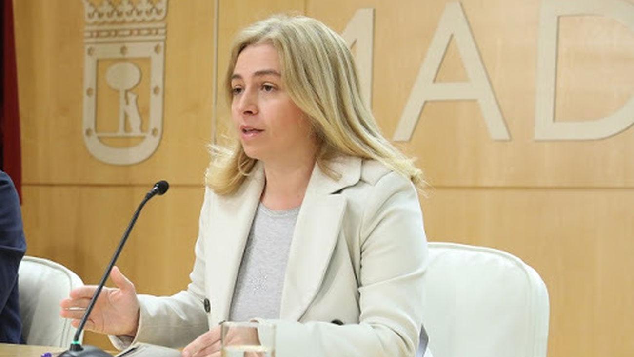 Inmaculada Sanz, delegada de Seguridad y Emergencias del Ayuntamiento de Madrid