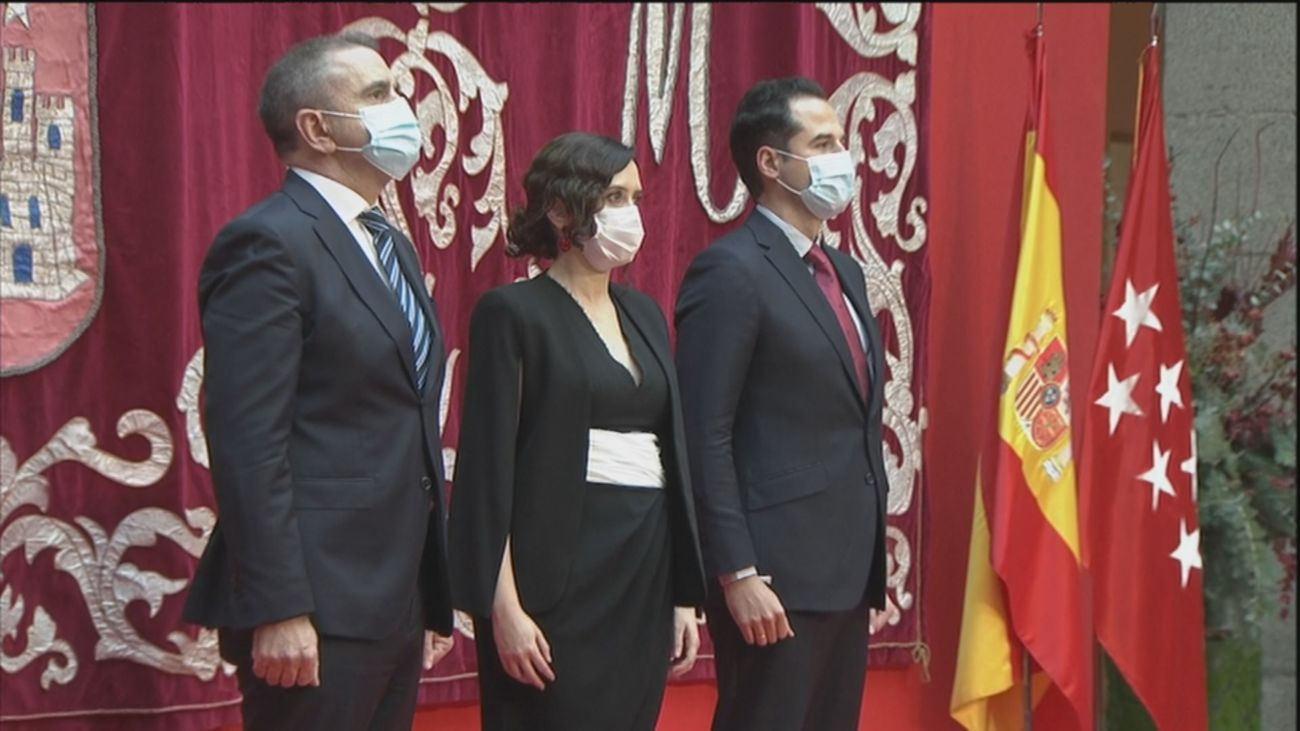 Madrid celebra el Día de la Constitución con limitaciones por el coronavirus