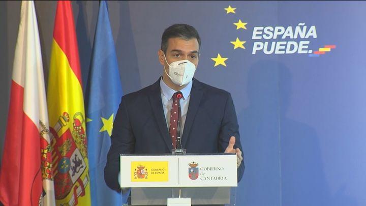 Sánchez quiere que en junio estén vacunados ya unos 20 millones de españoles