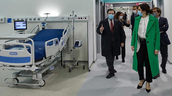 """""""Nos hemos basado en el acierto del hospital de campaña de IFEMA para hacer el Isabel Zendal"""""""