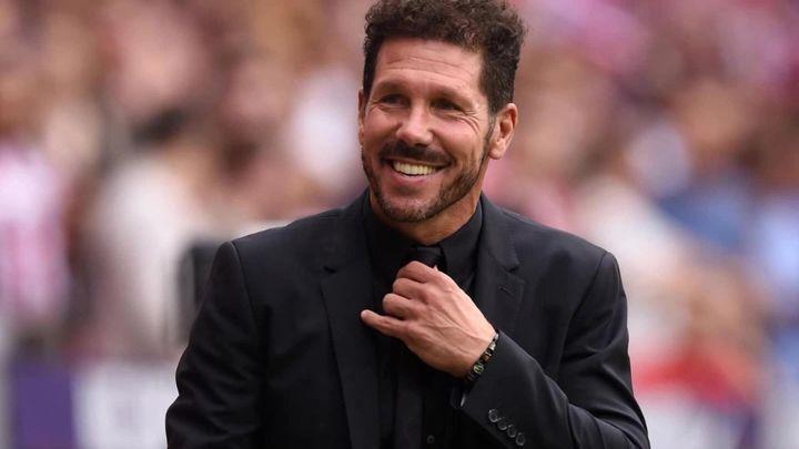 """Simeone: """"El equipo mejoró tras el confinamiento y continúa creciendo"""""""