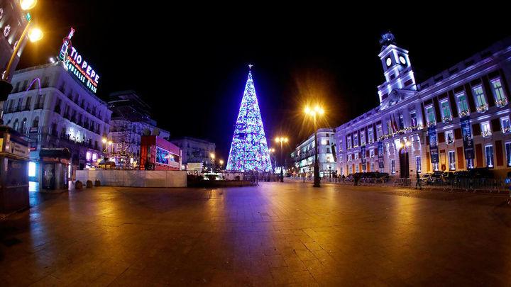 Doble perímetro de seguridad en la Puerta del Sol para las preuvas y en Nochevieja