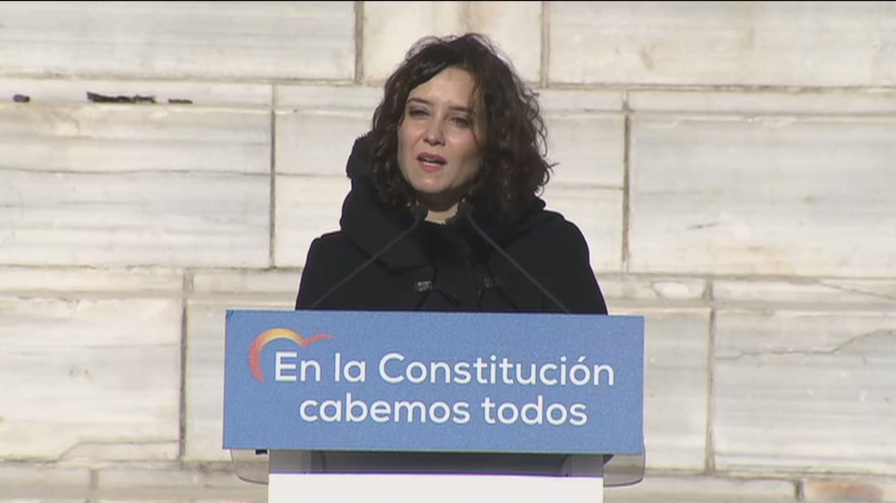 """Ayuso a Iglesias: """"Hoy un chavista ha decidido quién está o no dentro de la democracia"""""""