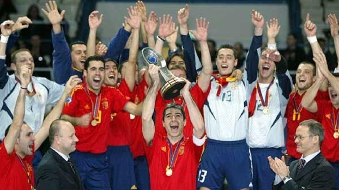 20º aniversario del primer Mundial de España en futsal