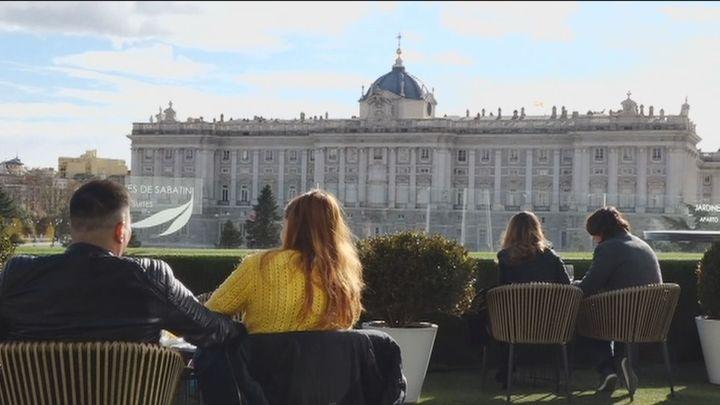 Brunch con vistas al Palacio Real, alojamiento y espectáculo