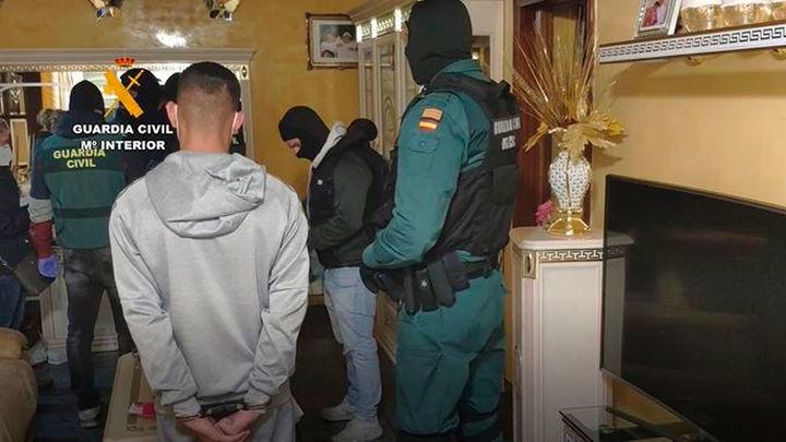 Detenida la  banda de aluniceros del 'Lete', una de las más activas de Madrid