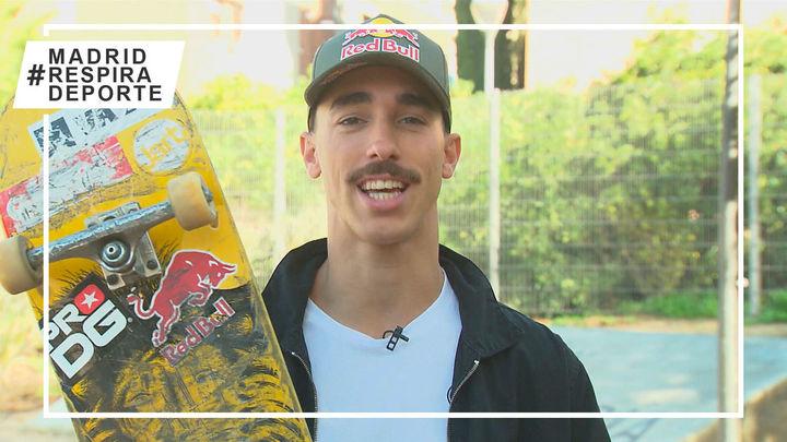 Danny León, la baza madrileña del skate en los Juegos de Tokio