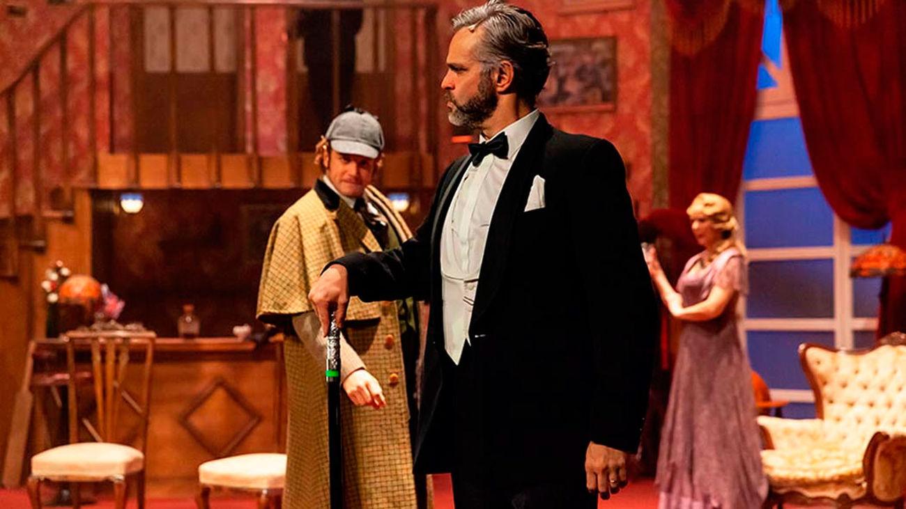 Escena del musical '¿Quién mató a Sherlock Holmes'?