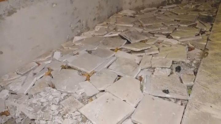 Indignación por el estado de este bloque de viviendas en Fuenlabrada
