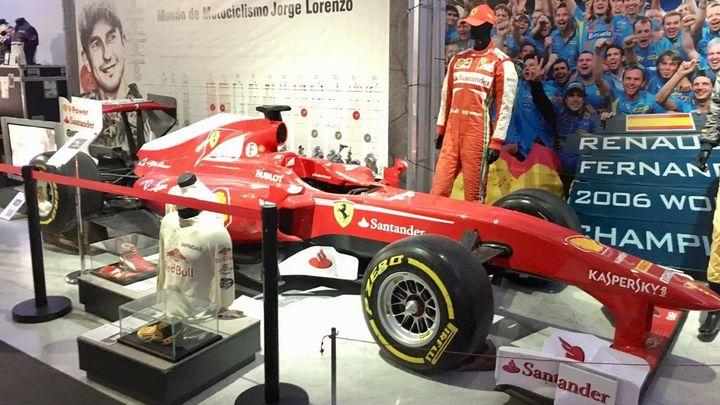 Las zapatillas de Bolt, la bici de Induráin o el Fórmula 1 de Alonso, en 'Leyendas del Deporte'