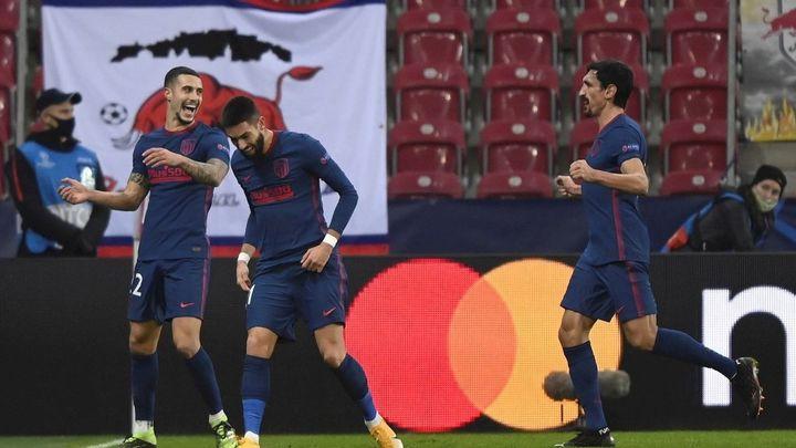 0-2. El Atlético de Madrid sella en Salzburgo el pase a octavos