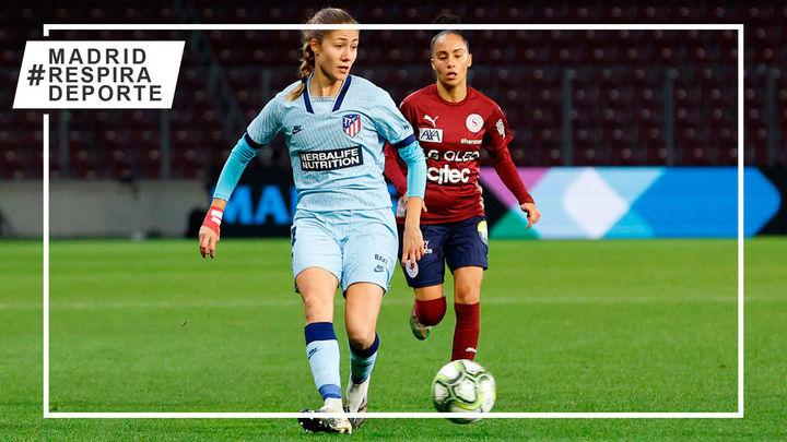 2-4. El Atleti femenino debuta en la Champions con una remontada ante el Servette