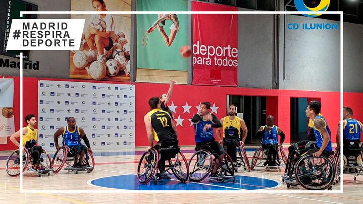 Ilunion escala puestos en la Liga de baloncesto en silla de ruedas