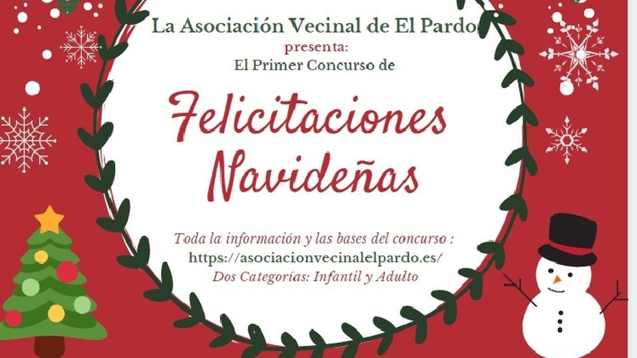 Concurso de felicitaciones navideñas en El Pardo