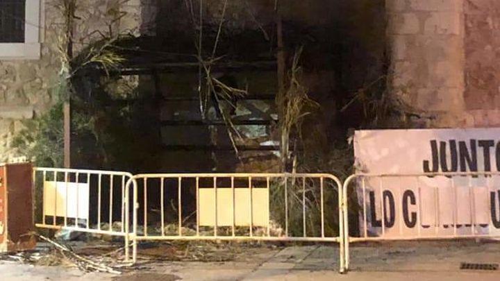 El Belén de Villaconejos, destruido por un incendio