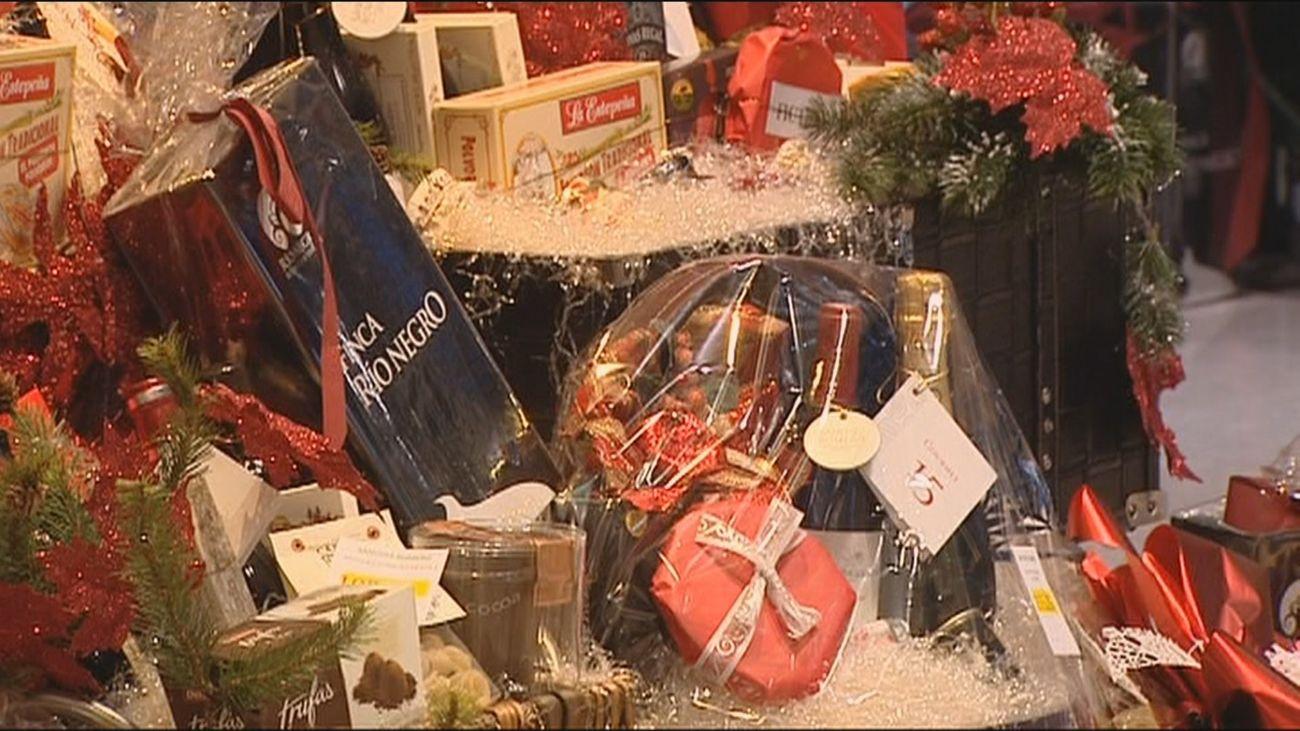 Las cestas de Navidad de las empresas tributan a Hacienda