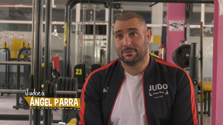 """Ángel Parra: """"Mi vida es judo y no me imagino otra cosa"""""""