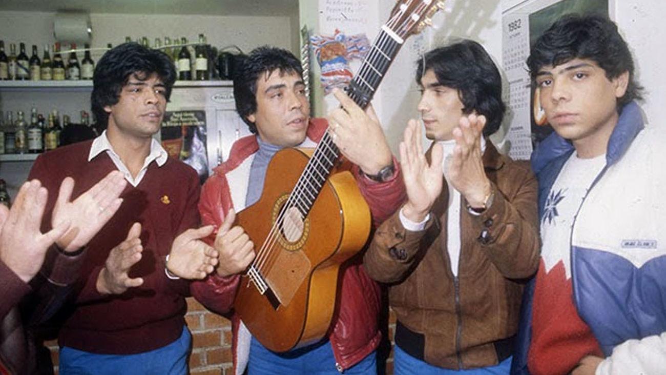 Los inicios artísticos de Los Chunguitos y Azúcar Moreno