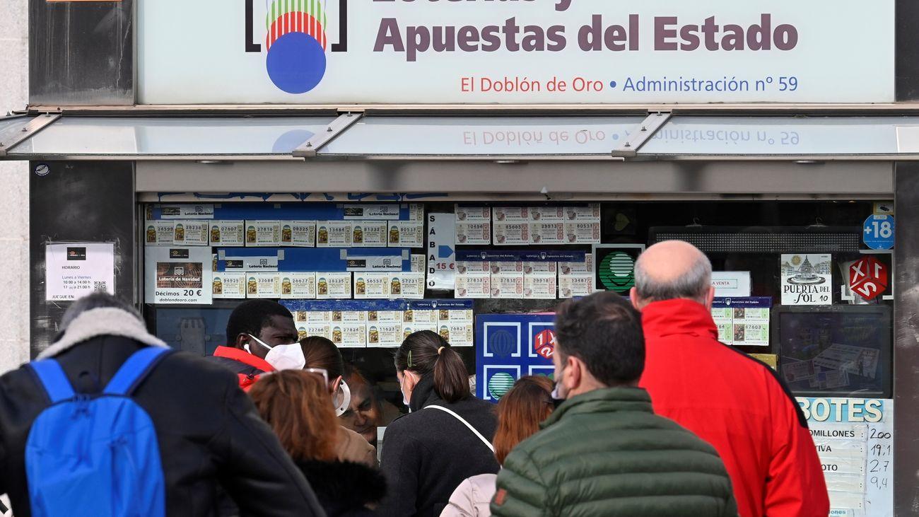 Administración de Lotería 'El Doblón de Oro' en Madrid