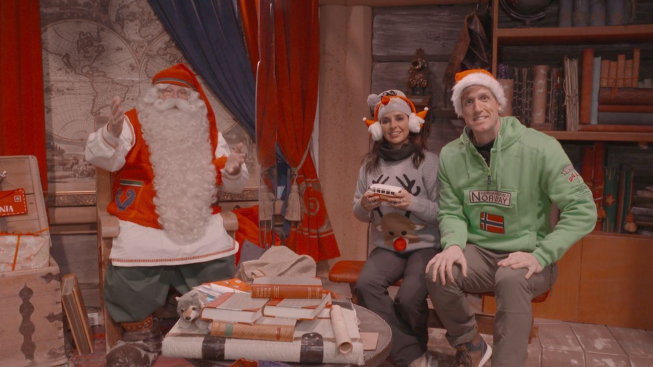 Carmen Alcayde y Óscar Martínez visitarán la casa de Papa Noel en Laponia.
