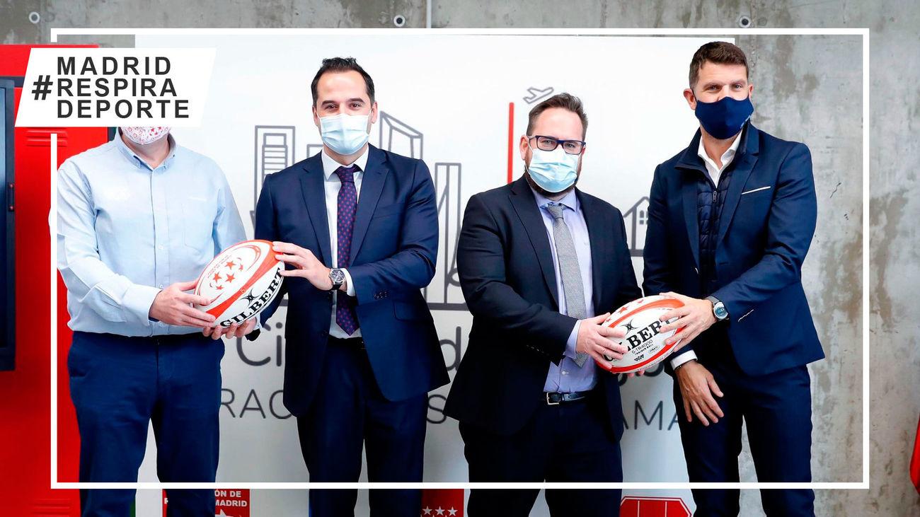 Presentacion de la 'Ciudad del rugby'