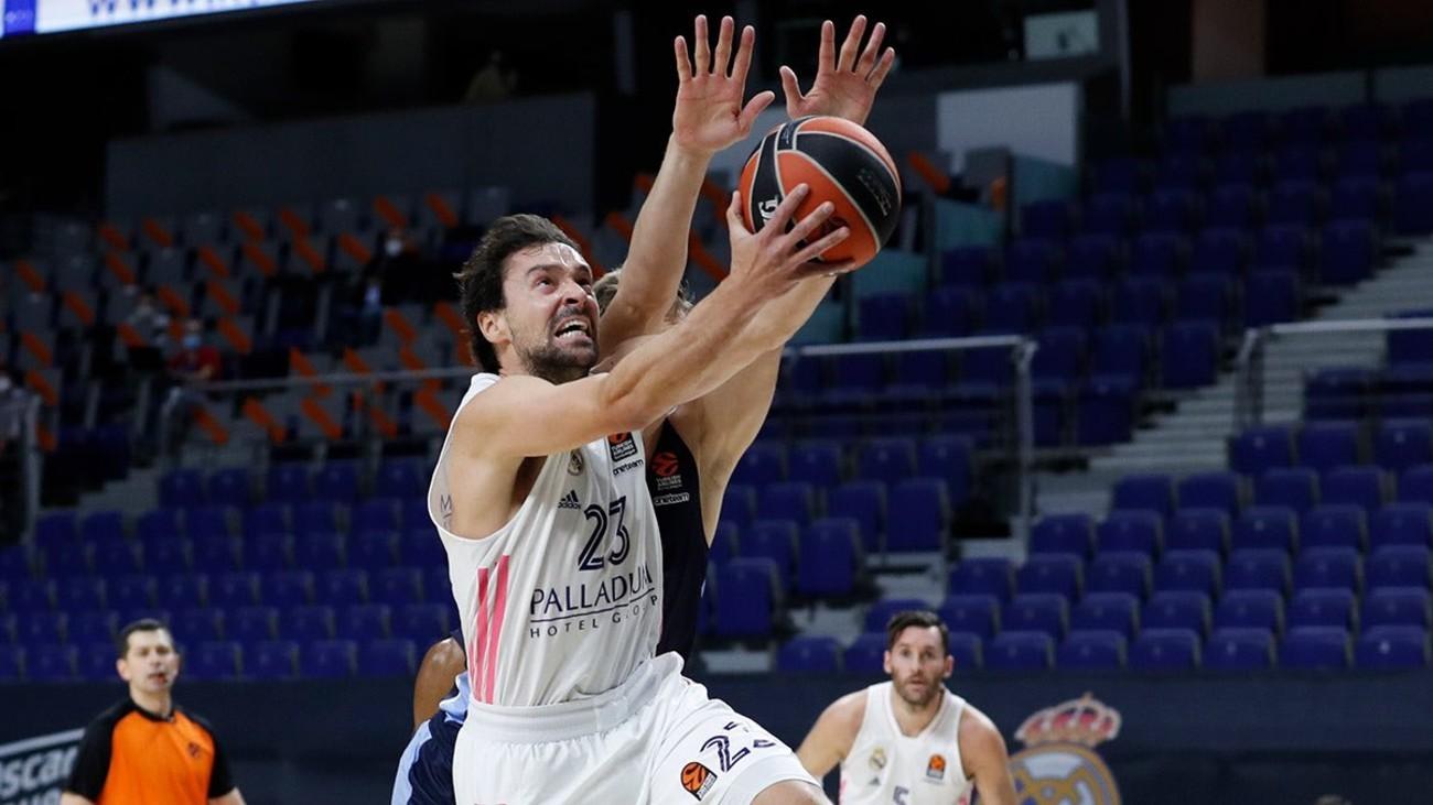 Sergio Llull ante el Zenit