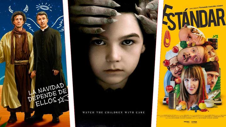 Estrenos de cine: Una de Navidad sin nieve, otra de miedo previsible y una de un chico muy ordenado