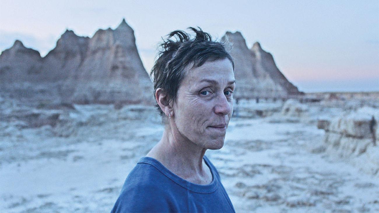 Nomadland , con Frances McDormand