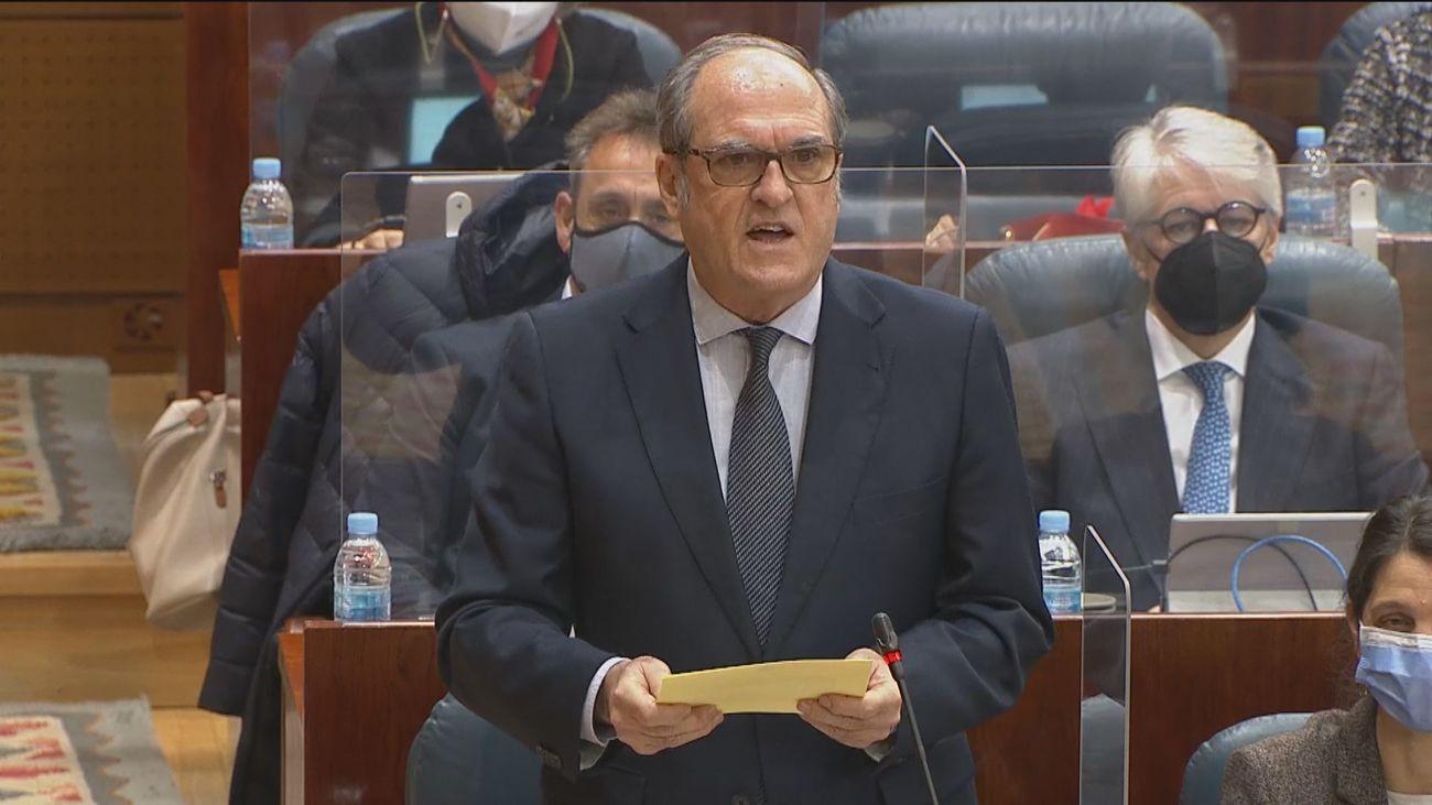Ángel Gabilondo, portavoz del PSOE