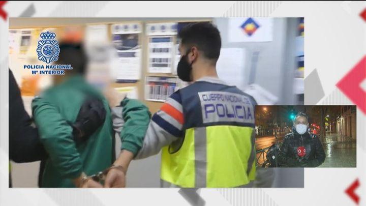 Detenido el atracador del punzón de Chamberí