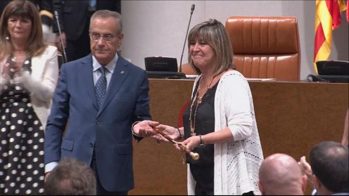 La alcaldesa de L'Hospitalet, Nuria Marín, declara como investigada por desvío de subvenciones