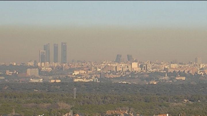 Madrid vuelve a incumplir la normativa europea pese a la caída de la polución