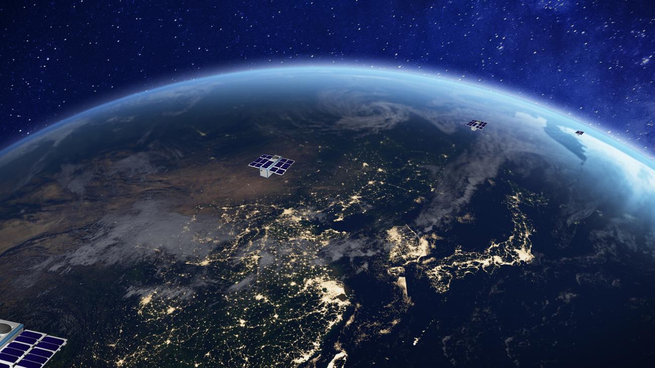 Simulación del despliegue de la constelación 'Sateliot'