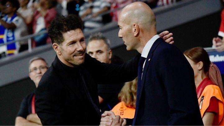 """Simeone: """"Siento admiración por el Real Madrid"""""""