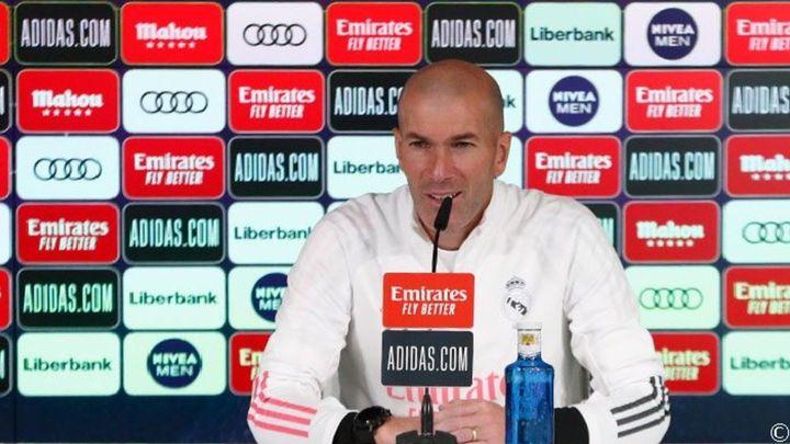 """Zidane: """"El Atlético es favorito para ganar LaLiga, lo está demostrando"""""""